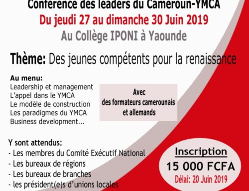 Cameroon-YMCA prepares its second edition of National Leaders' Conference